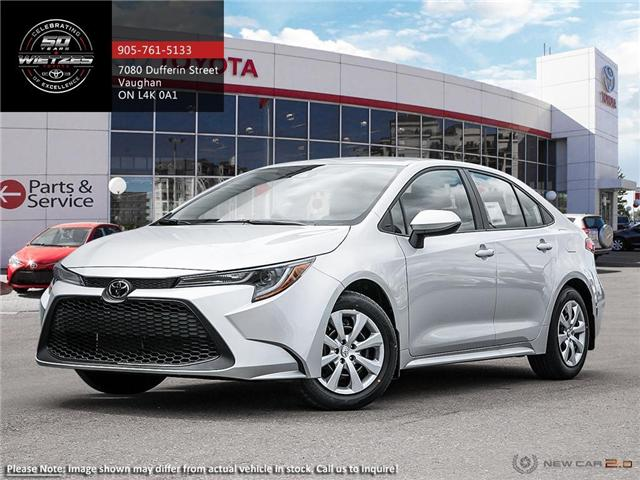 2020 Toyota Corolla LE (Stk: 68581) in Vaughan - Image 1 of 23