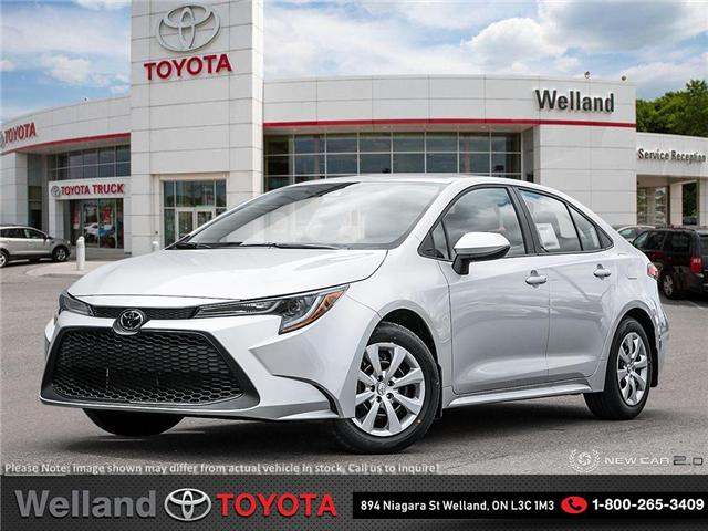 2020 Toyota Corolla LE (Stk: COR6599) in Welland - Image 1 of 23