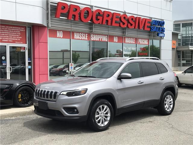 2019 Jeep Cherokee North (Stk: KD279661) in Sarnia - Image 1 of 24