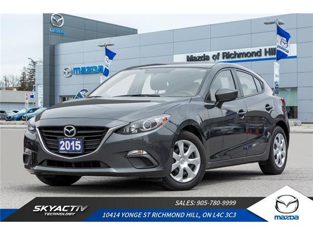 2015 Mazda Mazda3 Sport GX (Stk: P0412) in Richmond Hill - Image 1 of 17