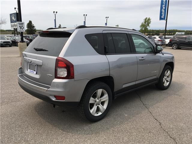 2017 Jeep Compass Sport/North (Stk: 17-97349RJB) in Barrie - Image 5 of 24