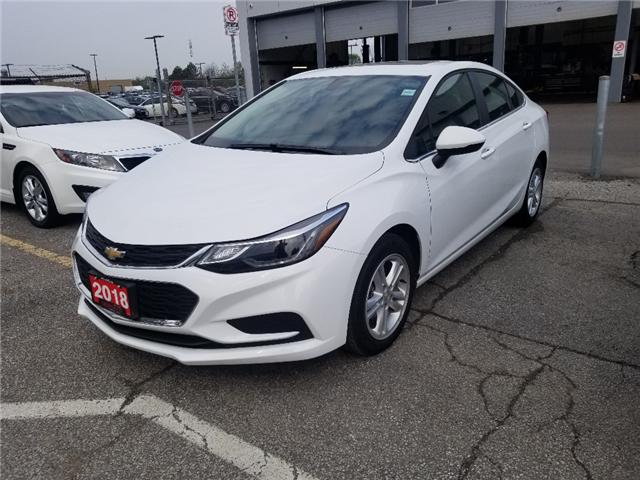2018 Chevrolet Cruze LT Auto (Stk: 1766A) in Mississauga - Image 1 of 9
