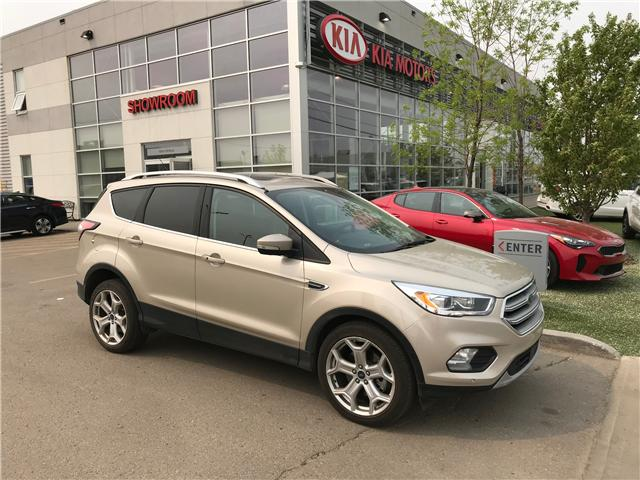 2017 Ford Escape Titanium (Stk: 21356A) in Edmonton - Image 1 of 24