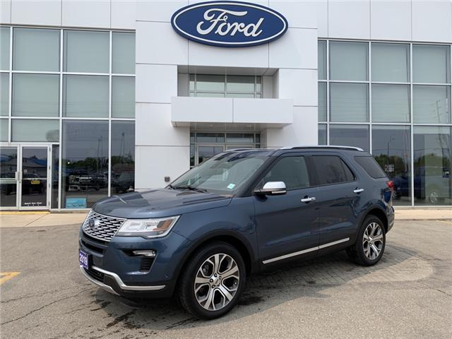 2019 Ford Explorer Platinum (Stk: 1969) in Perth - Image 1 of 13