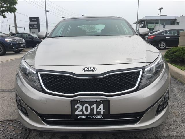 2014 Kia Optima SX Turbo (Stk: 1693W) in Oakville - Image 2 of 30