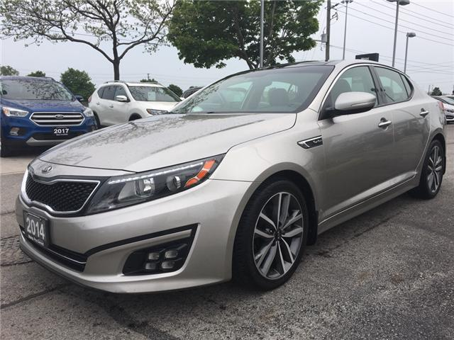 2014 Kia Optima SX Turbo (Stk: 1693W) in Oakville - Image 3 of 30