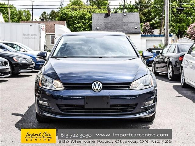 2015 Volkswagen Golf 2.0 TDI Comfortline (Stk: 041335) in Ottawa - Image 2 of 30
