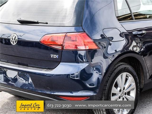 2015 Volkswagen Golf 2.0 TDI Comfortline (Stk: 041335) in Ottawa - Image 9 of 30