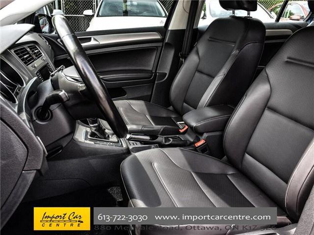 2015 Volkswagen Golf 2.0 TDI Comfortline (Stk: 041335) in Ottawa - Image 13 of 30