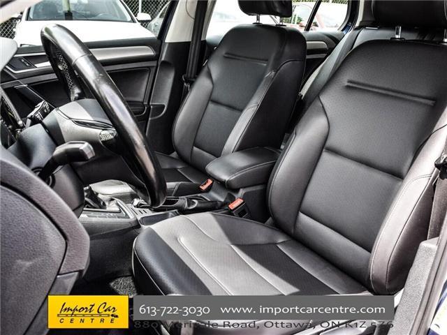 2015 Volkswagen Golf 2.0 TDI Comfortline (Stk: 041335) in Ottawa - Image 16 of 30