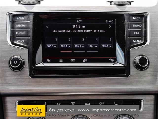 2015 Volkswagen Golf 2.0 TDI Comfortline (Stk: 041335) in Ottawa - Image 25 of 30