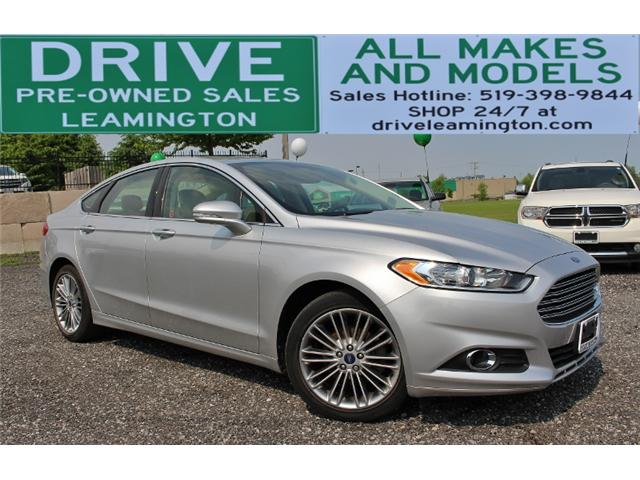 2013 Ford Fusion SE (Stk: D0077A) in Leamington - Image 1 of 28