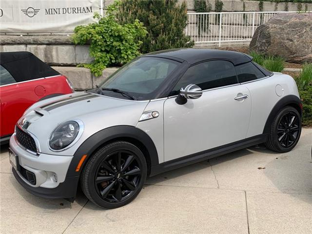 2013 Mini Coupe Cooper S At 14888 For Sale In Ajax Endras Bmw