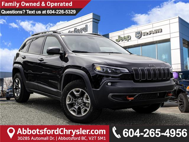 2019 Jeep Cherokee Trailhawk (Stk: AB0846) in Abbotsford - Image 1 of 25
