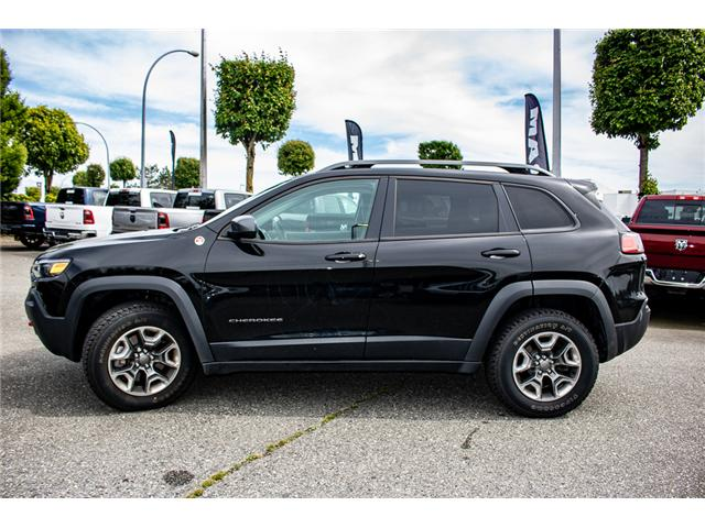 2019 Jeep Cherokee Trailhawk (Stk: AB0846) in Abbotsford - Image 5 of 25