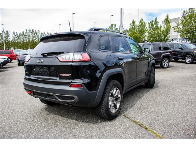 2019 Jeep Cherokee Trailhawk (Stk: AB0846) in Abbotsford - Image 8 of 25