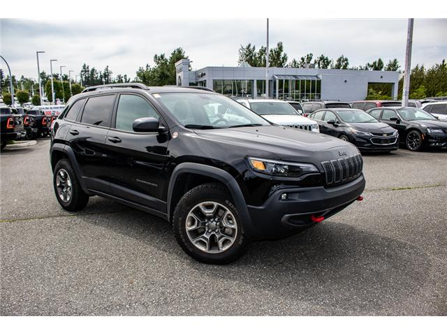 2019 Jeep Cherokee Trailhawk (Stk: AB0846) in Abbotsford - Image 10 of 25
