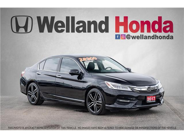 2017 Honda Accord Touring (Stk: U19192) in Welland - Image 1 of 24