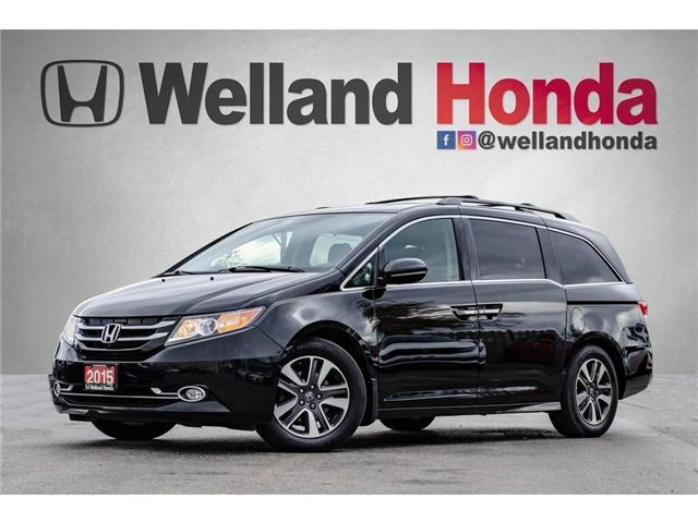 2015 Honda Odyssey Touring (Stk: U19019) in Welland - Image 1 of 30