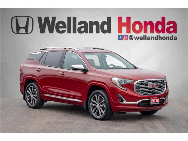 2018 GMC Terrain Denali (Stk: U19181) in Welland - Image 1 of 30