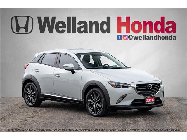 2016 Mazda CX-3 GT (Stk: U6673) in Welland - Image 1 of 28