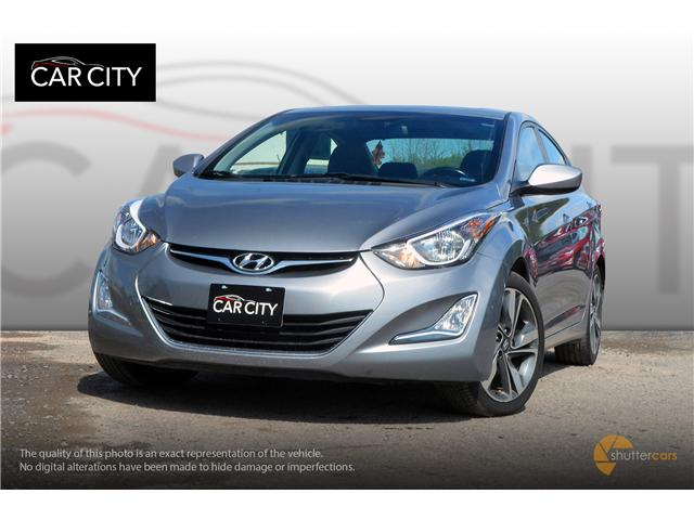 2015 Hyundai Elantra GLS (Stk: 2605) in Ottawa - Image 1 of 20