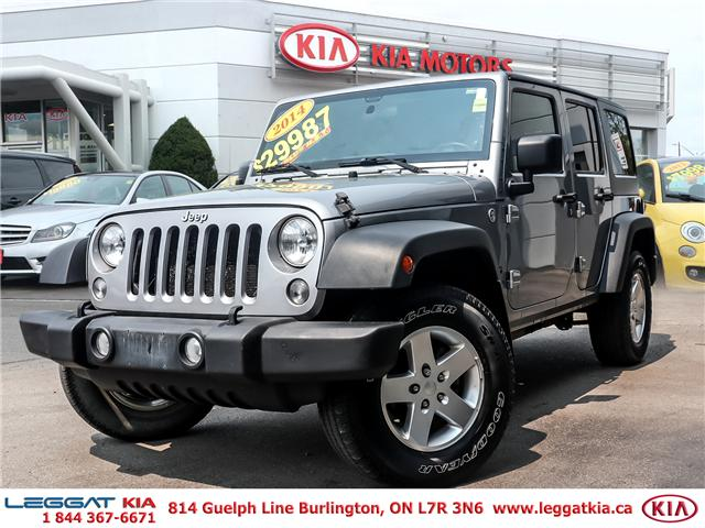 2014 Jeep Wrangler Unlimited Sport (Stk: 2408) in Burlington - Image 1 of 20