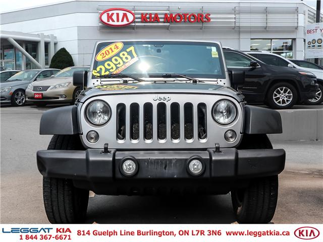 2014 Jeep Wrangler Unlimited Sport (Stk: 2408) in Burlington - Image 2 of 20