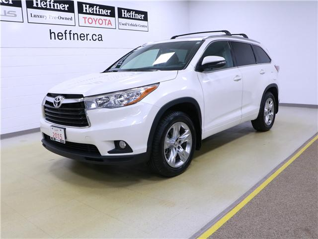 2015 Toyota Highlander Limited (Stk: 195394) in Kitchener - Image 1 of 34