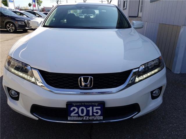 2015 Honda Accord EX-L-NAVI V6 (Stk: P40406A) in Mississauga - Image 2 of 21