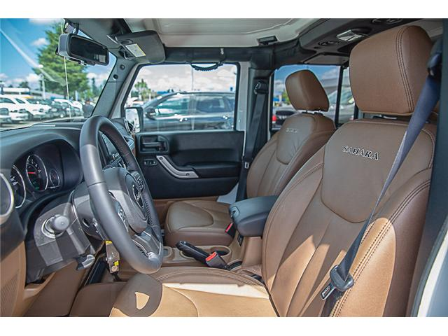 2018 Jeep Wrangler JK Unlimited Sahara (Stk: EE909280) in Surrey - Image 8 of 22