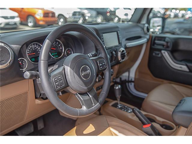 2018 Jeep Wrangler JK Unlimited Sahara (Stk: EE909280) in Surrey - Image 9 of 22