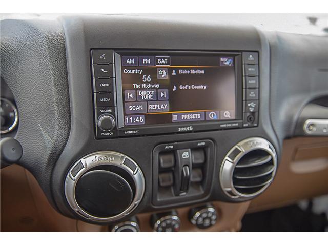 2018 Jeep Wrangler JK Unlimited Sahara (Stk: EE909280) in Surrey - Image 18 of 22