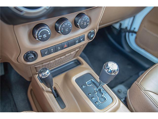2018 Jeep Wrangler JK Unlimited Sahara (Stk: EE909280) in Surrey - Image 20 of 22