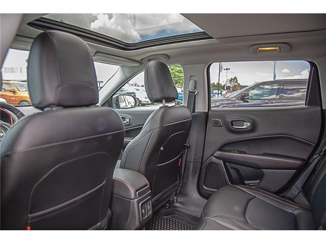 2018 Jeep Compass Trailhawk (Stk: K758714A) in Surrey - Image 12 of 28