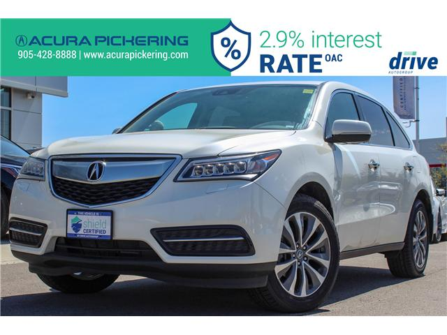 2016 Acura MDX Navigation Package (Stk: AP4859) in Pickering - Image 1 of 17