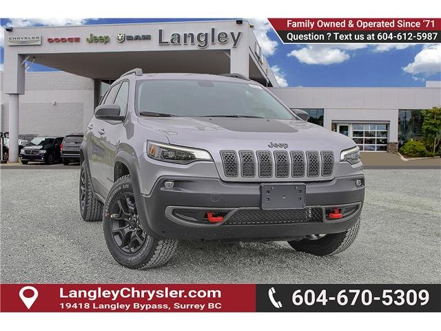 2019 Jeep Cherokee Trailhawk (Stk: K451528) in Surrey - Image 1 of 24