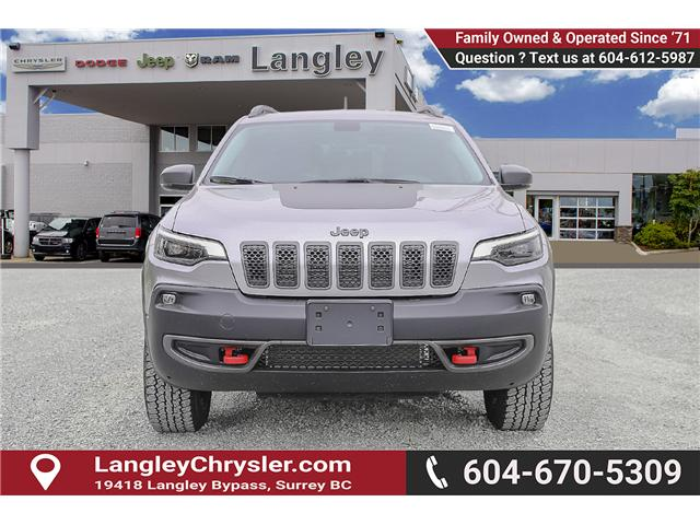 2019 Jeep Cherokee Trailhawk (Stk: K451528) in Surrey - Image 2 of 24