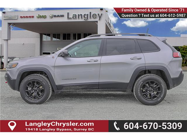 2019 Jeep Cherokee Trailhawk (Stk: K451528) in Surrey - Image 4 of 24