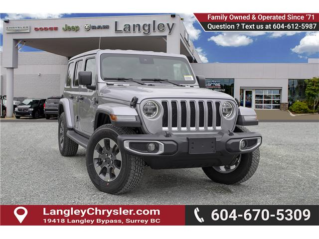 2019 Jeep Wrangler Unlimited Sahara (Stk: K602689) in Surrey - Image 1 of 25