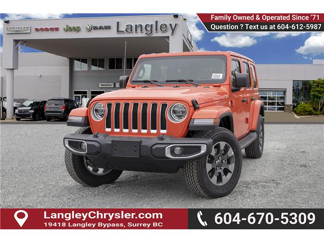 2019 Jeep Wrangler Unlimited Sahara (Stk: K602686) in Surrey - Image 3 of 25