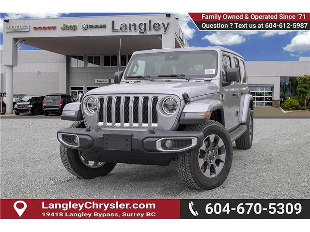2019 Jeep Wrangler Unlimited Sahara (Stk: K602689) in Surrey - Image 3 of 25