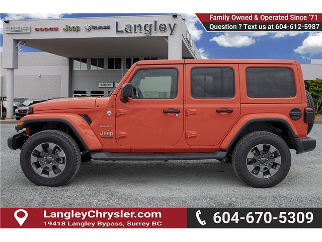 2019 Jeep Wrangler Unlimited Sahara (Stk: K602686) in Surrey - Image 4 of 25