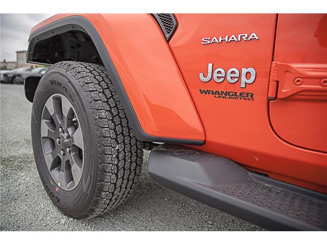 2019 Jeep Wrangler Unlimited Sahara (Stk: K602693) in Surrey - Image 7 of 23