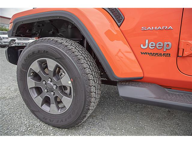 2019 Jeep Wrangler Unlimited Sahara (Stk: K602686) in Surrey - Image 7 of 25