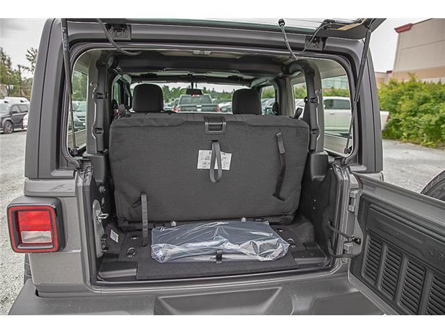 2019 Jeep Wrangler Sport (Stk: K633078) in Surrey - Image 7 of 19