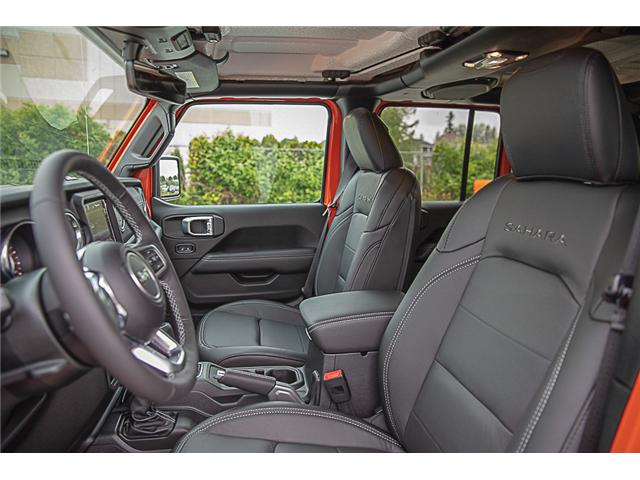 2019 Jeep Wrangler Unlimited Sahara (Stk: K602686) in Surrey - Image 9 of 25