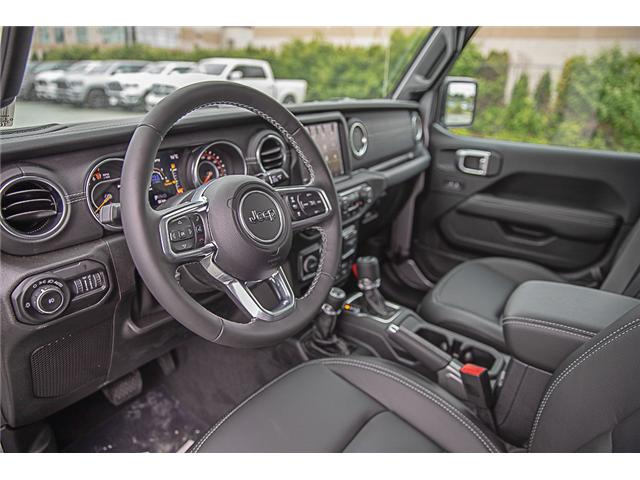 2019 Jeep Wrangler Unlimited Sahara (Stk: K602689) in Surrey - Image 9 of 25