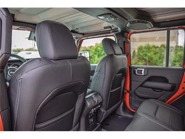2019 Jeep Wrangler Unlimited Sahara (Stk: K602693) in Surrey - Image 10 of 23