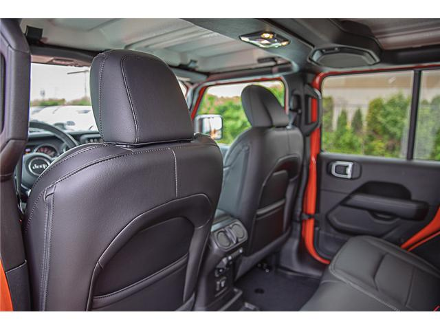 2019 Jeep Wrangler Unlimited Sahara (Stk: K602686) in Surrey - Image 10 of 25